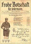 Frohe Botschaft von 1908