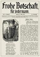 Frohe Botschaft von 1910
