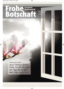 Cover-Frohe Botschaft-april 2019