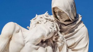 Maria beweint ihren Sohn Jesus