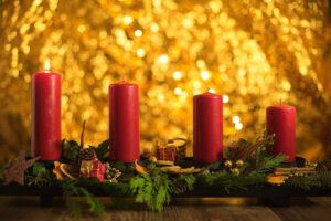 Advent - Zeit der Kerzen und des Wartens.