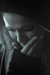 Weinende Frau. Foto: pixabay
