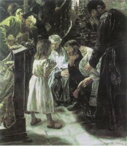 Der zwölfjährige Christus im Tempel