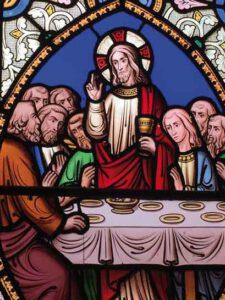 Jesu letztes Abendmahl mit seinen Jüngern